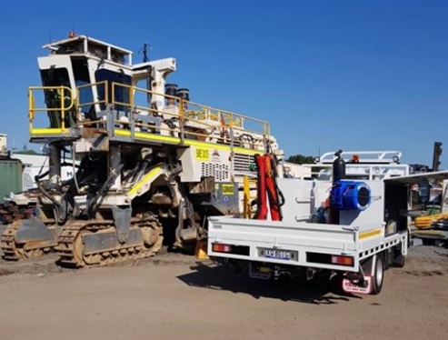Wirtgen 2500 Surface Miner