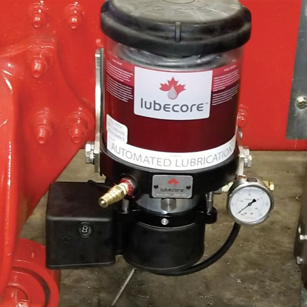 Lubecore lubrication systems